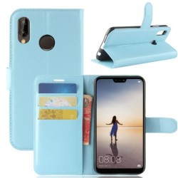 Huawei P20 Blue Wallet Case