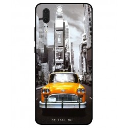 Coque New York Taxi Pour Huawei P20