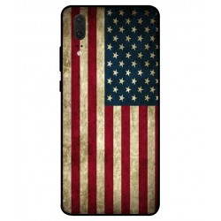 Coque Vintage America Pour Huawei P20