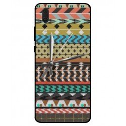 Coque Broderie Mexicaine Avec Horloge Pour Huawei P20