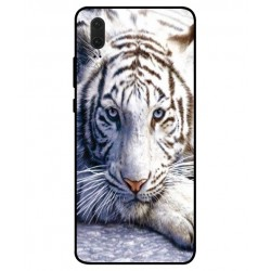 Coque Protection Tigre Blanc Pour Huawei P20
