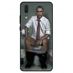 Huawei P20 Obama On The Toilet Cover